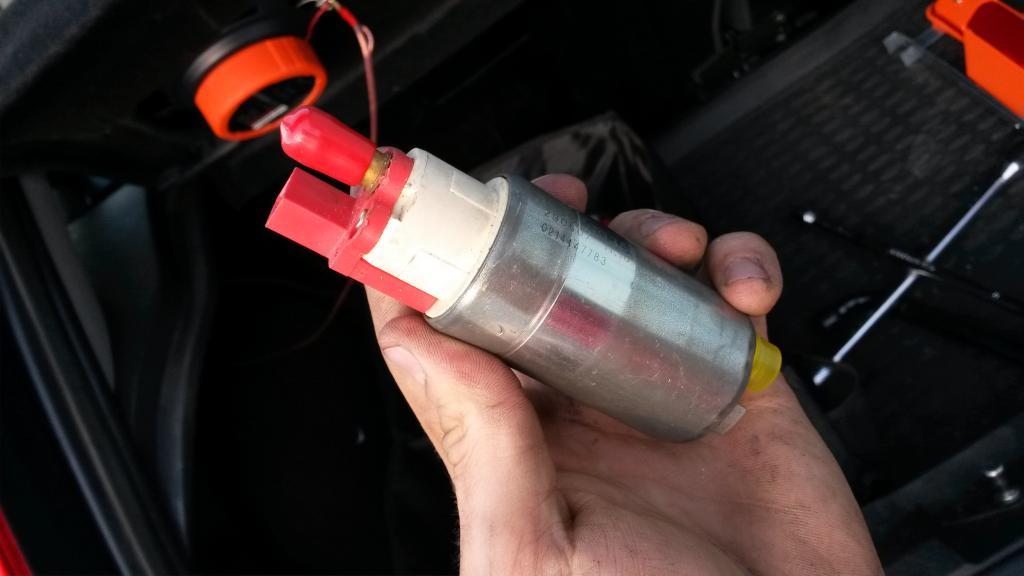 Замена моторчика бензонасоса-